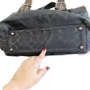 Coach Bags - Coach Black on Black Carry All Shoulder Bag